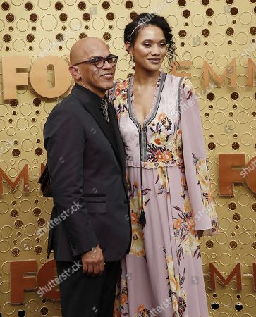 Rickey Minor (L) and Rachel Montez Minor arrive for the 71st annual Primetime Emmy Awards ceremony held at the Microsoft Theater in Los Angeles, California, USA, 22 September 2019. The Primetime Emmys celebrate excellence in national primetime television broadcasting.