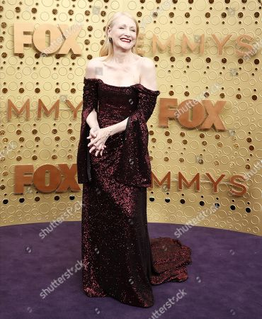 Patricia Clarkson arrives for the 71st annual Primetime Emmy Awards ceremony held at the Microsoft Theater in Los Angeles, California, USA, 22 September 2019. The Primetime Emmys celebrate excellence in national primetime television broadcasting.