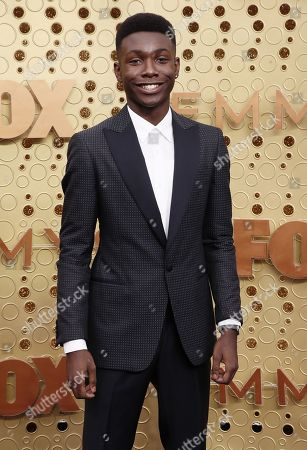Niles Fitch arrives for the 71st annual Primetime Emmy Awards ceremony held at the Microsoft Theater in Los Angeles, California, USA, 22 September 2019. The Primetime Emmys celebrate excellence in national primetime television broadcasting.