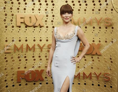 Emmanuelle Vaugier arrives for the 71st annual Primetime Emmy Awards ceremony held at the Microsoft Theater in Los Angeles, California, USA, 22 September 2019. The Primetime Emmys celebrate excellence in national primetime television broadcasting.