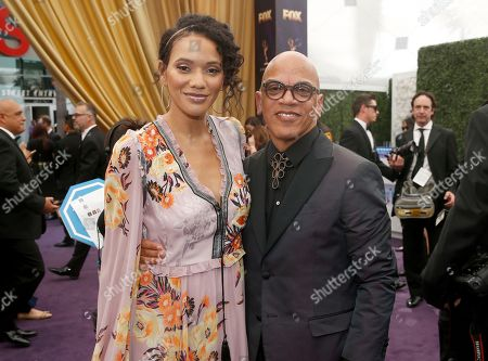 Rachel Montez Minor, Rickey Minor. Rachel Montez Minor and Rickey Minor arrive at the 71st Primetime Emmy Awards, at the Microsoft Theater in Los Angeles