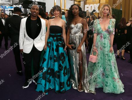 Chris Reed, Melissa Villasenor, Ego Nwodim, Heidi Gardner. Chris Reed, Melissa Villasenor, Ego Nwodim, and Heidi Gardner arrive at the 71st Primetime Emmy Awards, at the Microsoft Theater in Los Angeles