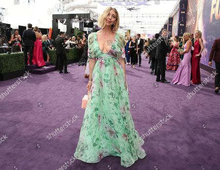 Heidi Gardner arrives at the 71st Primetime Emmy Awards, at the Microsoft Theater in Los Angeles