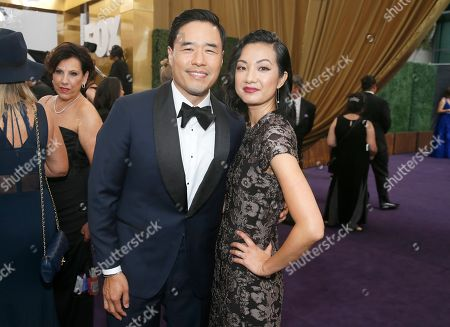 Randall Park, Jae W. Suh. Randall Park and Jae W. Suh arrive at the 71st Primetime Emmy Awards, at the Microsoft Theater in Los Angeles