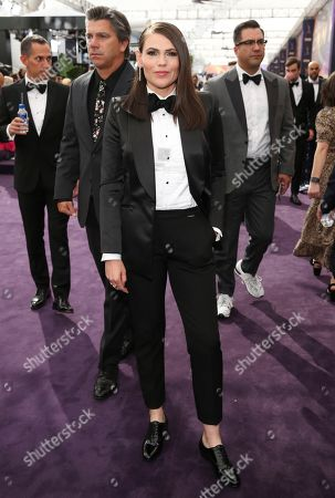 Clea DuVall arrives at the 71st Primetime Emmy Awards, at the Microsoft Theater in Los Angeles
