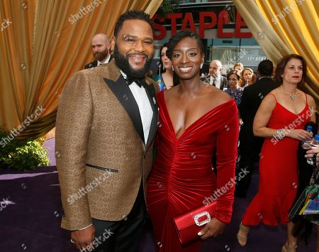 Anthony Anderson, Alvina Stewart. Anthony Anderson and Alvina Stewart arrive at the 71st Primetime Emmy Awards, at the Microsoft Theater in Los Angeles
