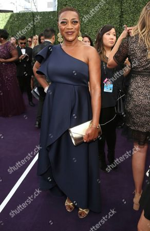 Karen Robinson arrives at the 71st Primetime Emmy Awards, at the Microsoft Theater in Los Angeles