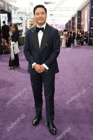 Randall Park arrives at the 71st Primetime Emmy Awards, at the Microsoft Theater in Los Angeles
