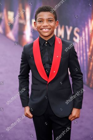 Lonnie Chavis arrives at the 71st Primetime Emmy Awards, at the Microsoft Theater in Los Angeles