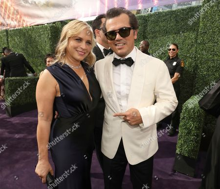 Stock Picture of John Leguizamo, Justine Maurer. John Leguizamo, right, and Justine Maurer arrive at the 71st Primetime Emmy Awards, at the Microsoft Theater in Los Angeles