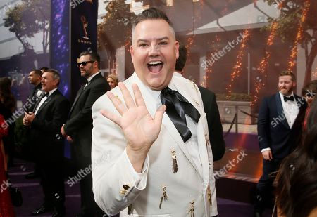 Ross Mathews arrives at the 71st Primetime Emmy Awards, at the Microsoft Theater in Los Angeles