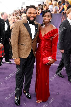 Anthony Anderson, Alvina Stewart. Anthony Anderson, left, and Alvina Stewart arrive at the 71st Primetime Emmy Awards, at the Microsoft Theater in Los Angeles