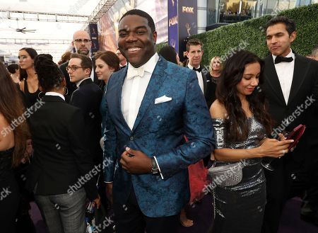 Sam Richardson arrives at the 71st Primetime Emmy Awards, at the Microsoft Theater in Los Angeles