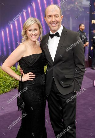 Eric Lange, Lisa Sabatino. Eric Lange, right, and Lisa Sabatino arrive at the 71st Primetime Emmy Awards, at the Microsoft Theater in Los Angeles