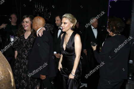 Aidy Bryant, Kate McKinnon. Aidy Bryant, far left, and Kate McKinnon, center, appear backstage at the 71st Primetime Emmy Awards, at the Microsoft Theater in Los Angeles