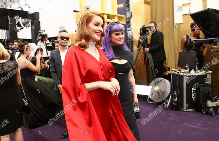 Our Lady J, Kelly Osbourne. Our Lady J, left, and Kelly Osbourne at the 71st Primetime Emmy Awards, at the Microsoft Theater in Los Angeles