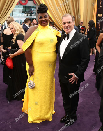 Nicole Byer, Jacques Torres. Nicole Byer, left, and Jacques Torres at the 71st Primetime Emmy Awards, at the Microsoft Theater in Los Angeles