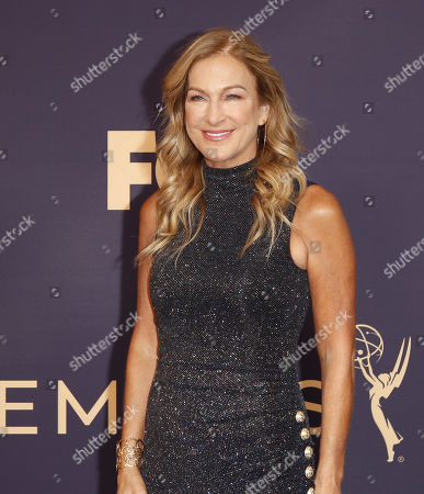Stock Image of Deborah Dugan arrives for the 71st annual Primetime Emmy Awards ceremony held at the Microsoft Theater in Los Angeles, California, USA, 22 September 2019. The Primetime Emmys celebrate excellence in national primetime television broadcasting.