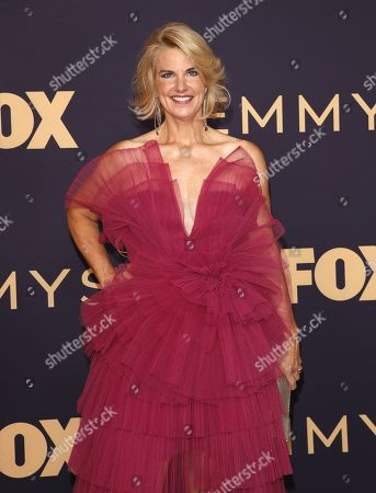 Sarah Kate Ellis arrives for the 71st annual Primetime Emmy Awards ceremony held at the Microsoft Theater in Los Angeles, California, USA, 22 September 2019. The Primetime Emmys celebrate excellence in national primetime television broadcasting.