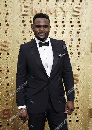 Stock Image of Darius McCrary arrives for the 71st annual Primetime Emmy Awards ceremony held at the Microsoft Theater in Los Angeles, California, USA, 22 September 2019. The Primetime Emmys celebrate excellence in national primetime television broadcasting.