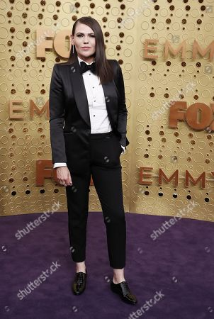 Clea DuVall arrives for the 71st annual Primetime Emmy Awards ceremony held at the Microsoft Theater in Los Angeles, California, USA, 22 September 2019. The Primetime Emmys celebrate excellence in national primetime television broadcasting.