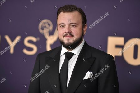 John Bradley arrives at the 71st Primetime Emmy Awards, at the Microsoft Theater in Los Angeles