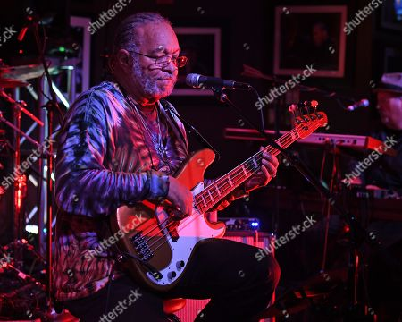 Editorial picture of George Porter Jr. in concert at The Funky Biscuit, Boca Raton, USA - 21 Sep 2019