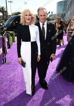 Catherine O'Hara, Bo Welch. Catherine O'Hara, left, and Bo Welch arrive at the 71st Primetime Emmy Awards, at the Microsoft Theater in Los Angeles