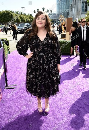 Aidy Bryant arrives at the 71st Primetime Emmy Awards, at the Microsoft Theater in Los Angeles