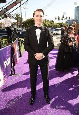 Stock Image of Paul Dano arrives at the 71st Primetime Emmy Awards, at the Microsoft Theater in Los Angeles