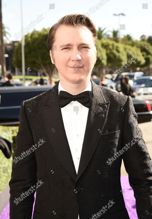 Paul Dano arrives at the 71st Primetime Emmy Awards, at the Microsoft Theater in Los Angeles