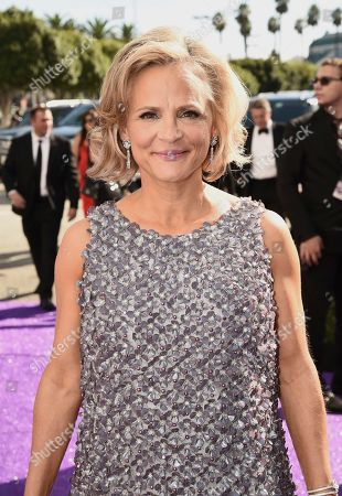 Amy Sedaris arrives at the 71st Primetime Emmy Awards, at the Microsoft Theater in Los Angeles