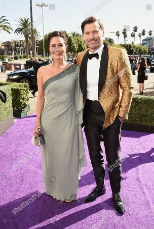 Nukaaka Coster-Waldau, Nikolaj Coster-Waldau. Nukaaka Coster-Waldau, left, and Nikolaj Coster-Waldau arrive at the 71st Primetime Emmy Awards, at the Microsoft Theater in Los Angeles