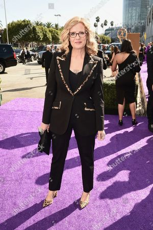 Stock Image of Bonnie Hunt arrives at the 71st Primetime Emmy Awards, at the Microsoft Theater in Los Angeles