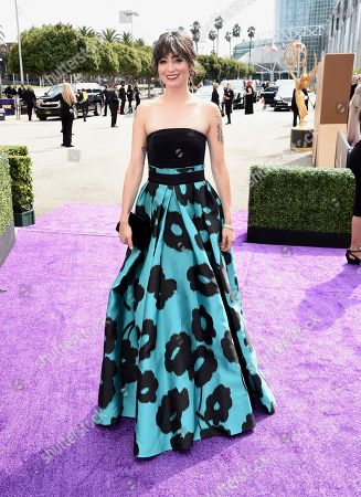 Melissa Villasenor arrives at the 71st Primetime Emmy Awards, at the Microsoft Theater in Los Angeles