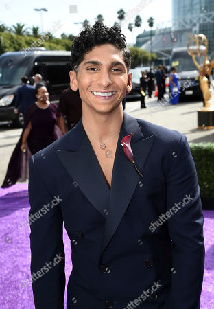 Stock Picture of Angel Bismark Curiel arrives at the 71st Primetime Emmy Awards, at the Microsoft Theater in Los Angeles