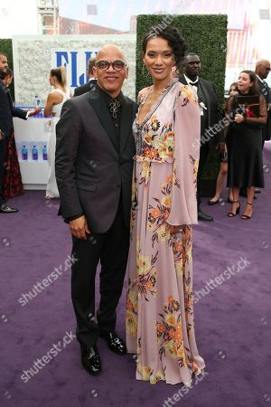 Rickey Minor, Rachel Montez Minor. Rickey Minor and Rachel Montez Minor arrive at the 71st Primetime Emmy Awards, at the Microsoft Theater in Los Angeles