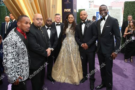 Antron McCray, Raymond Santana, Kevin Richardson, Ava DuVernay, Korey Wise, Yusef Salaam. Ava DuVernay, center, is joined by Antron McCray, Raymond Santana, Kevin Richardson, Korey Wise, Yusef Salaam. Antron McCray, Raymond Santana, Kevin Richardson, Ava DuVernay, Korey Wise, Yusef Salaam. Ava DuVernay, center, is joined by Antron McCray, Raymond Santana, Kevin Richardson, Korey Wise and Yusef Salaam arrive at the 71st Primetime Emmy Awards, at the Microsoft Theater in Los Angeles