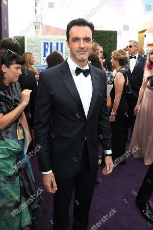 Reid Scott arrives at the 71st Primetime Emmy Awards, at the Microsoft Theater in Los Angeles