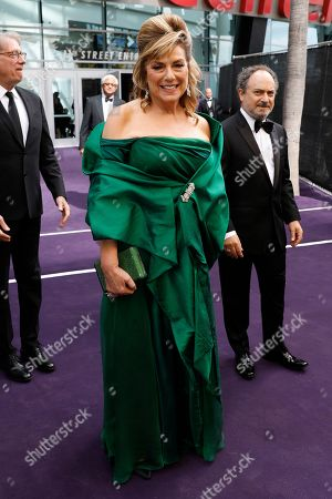 Caroline Aaron and Kevin Pollak arrives at the 71st Primetime Emmy Awards, at the Microsoft Theater in Los Angeles