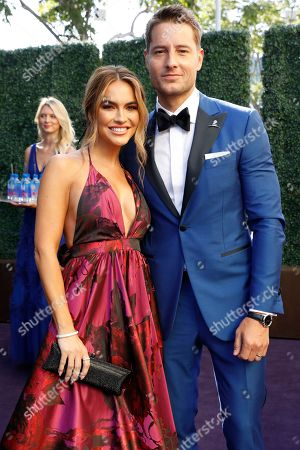 Justin Hartley, Chrishell Stause. Justin Hartley and Chrishell Stause arrivesat the 71st Primetime Emmy Awards, at the Microsoft Theater in Los Angeles