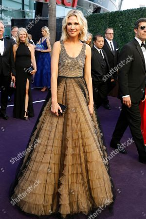 Desi Lydic arrives at the 71st Primetime Emmy Awards, at the Microsoft Theater in Los Angeles