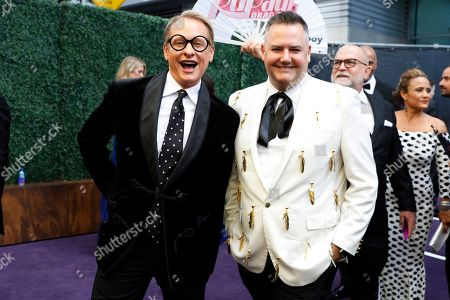 Carson Kressley, Ross Mathews. Carson Kressley and Ross Mathews arrives at the 71st Primetime Emmy Awards, at the Microsoft Theater in Los Angeles