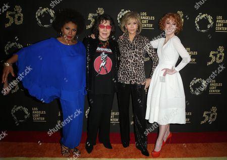 Jenifer Lewis, Lily Tomlin, Jane Fonda, Kathy Griffin
