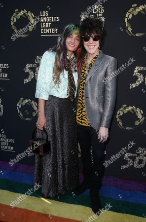 Editorial picture of LA LGBT Center 'Hearts of Gold' Concert, Arrivals, The Greek Theatre, Los Angeles, USA - 21 Sep 2019