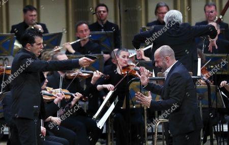 Editorial photo of George Enescu International Festival 2019 in Bucharest, Romania - 22 Sep 2019
