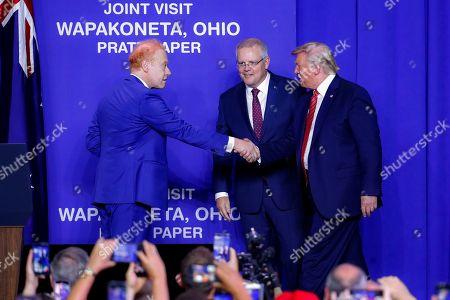 Editorial image of Trump, Wapakoneta, USA - 22 Sep 2019