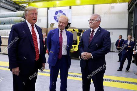 Editorial photo of Trump, Wapakoneta, USA - 22 Sep 2019