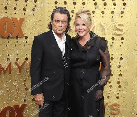 Stock Photo of Ian McShane and Gwen Humble