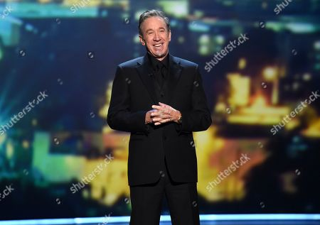 Stock Picture of Tim Allen speaks onstage at the 71st Primetime Emmy Awards, at the Microsoft Theater in Los Angeles